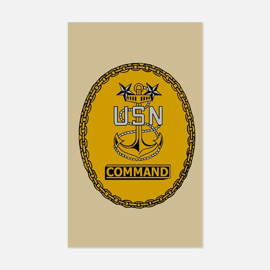 Command Master Chief<BR> Sticker 3
