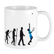 evolution tennis player Mug