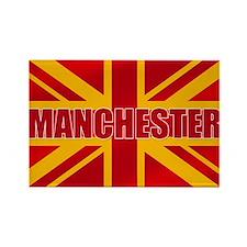 Manchester England Rectangle Magnet