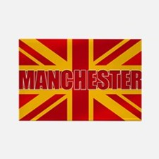 Manchester England Rectangle Magnet