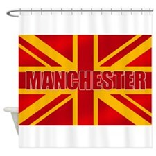 Manchester England Shower Curtain