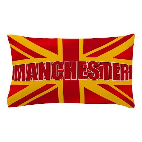 Manchester England Pillow Case
