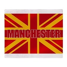 Manchester England Throw Blanket