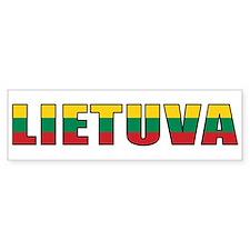Lithuania Bumper Bumper Sticker