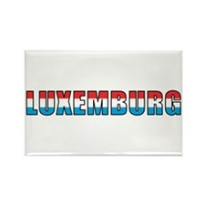 Luxembourg (German) Rectangle Magnet