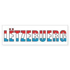 Luxembourg Bumper Bumper Sticker
