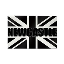 Newcastle England Rectangle Magnet