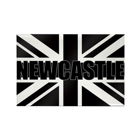 Newcastle England Rectangle Magnet (10 pack)