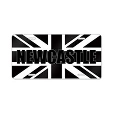 Newcastle England Aluminum License Plate
