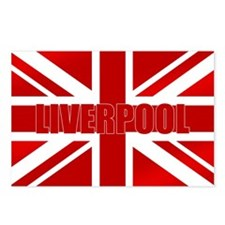 Liverpool Scouser Flag Postcards (Package of 8)