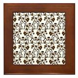 Dalmatian Framed Tiles