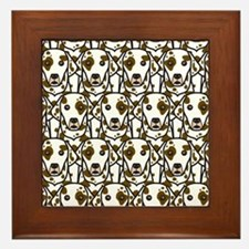 Dalmatians Framed Tile