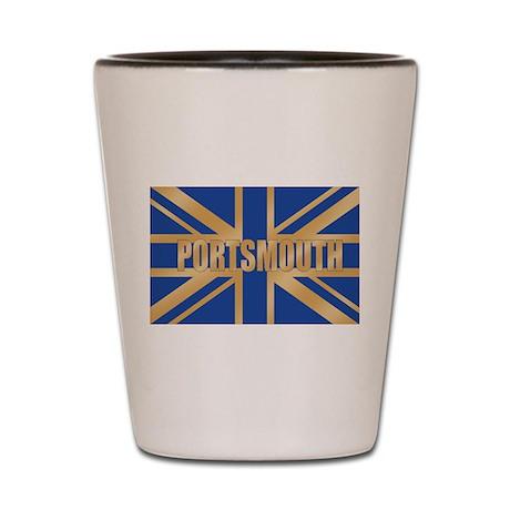 Portsmouth England Shot Glass