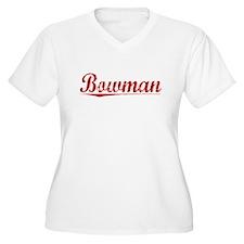 Bowman, Vintage Red T-Shirt