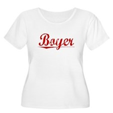 Boyer, Vintage Red T-Shirt