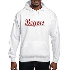 Boyers, Vintage Red Hoodie