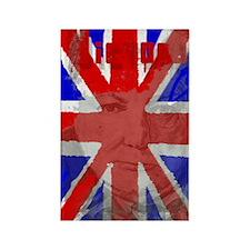 Churchill Union Jack Rectangle Magnet