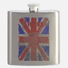 Churchill Union Jack Flask