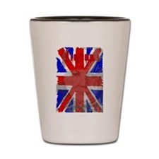 Churchill Union Jack Shot Glass