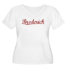 Broderick, Vintage Red T-Shirt