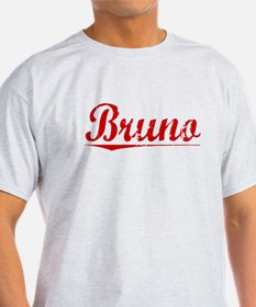 Bruno, Vintage Red T-Shirt