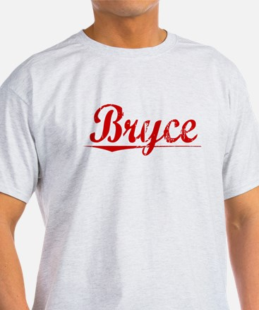 Bryce, Vintage Red T-Shirt