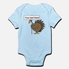 Turkey with Sign Infant Bodysuit