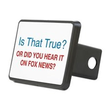 Anti Fox News Hitch Cover