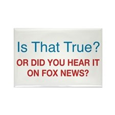 Anti Fox News Rectangle Magnet