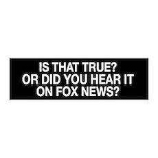 Anti Fox News Wall Sticker