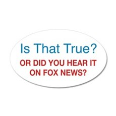Anti Fox News Wall Decal