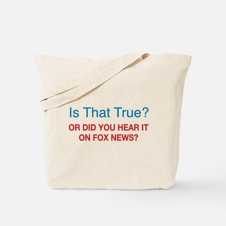 Anti Fox News Tote Bag