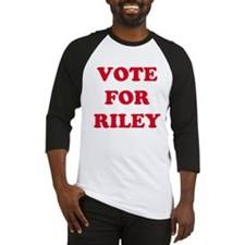 VOTE FOR RILEY  Baseball Jersey