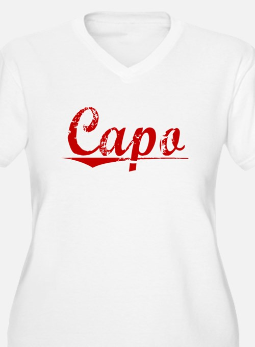 Capo, Vintage Red T-Shirt