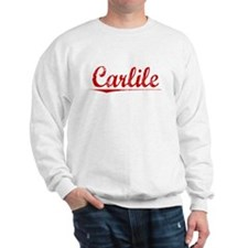Carlile, Vintage Red Sweatshirt