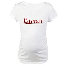 Carmen, Vintage Red Shirt