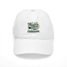 Grandpa (Worlds Best) Gift Baseball Cap