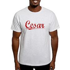 Cesar, Vintage Red T-Shirt