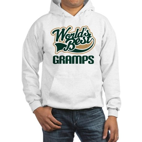 Gramps Gift (Worlds Best) Hooded Sweatshirt