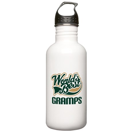 Gramps Gift (Worlds Best) Stainless Water Bottle 1