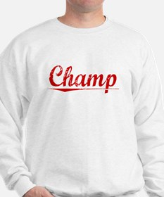Champ, Vintage Red Sweatshirt