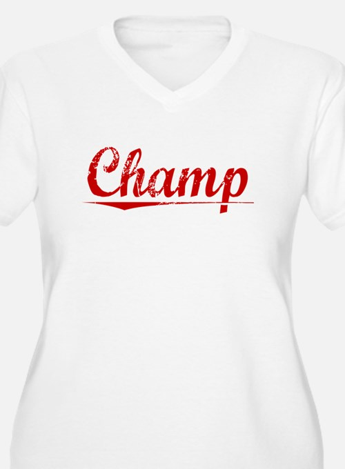 Champ, Vintage Red T-Shirt