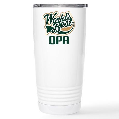 Opa (Worlds Best) Stainless Steel Travel Mug