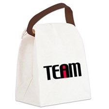I in TEAM Canvas Lunch Bag