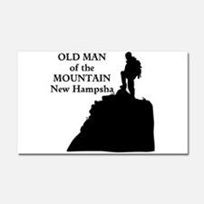 Old Man of the Mountain Car Magnet 20 x 12