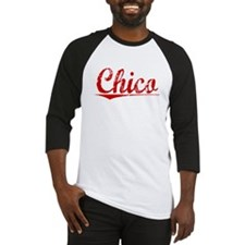 Chico, Vintage Red Baseball Jersey