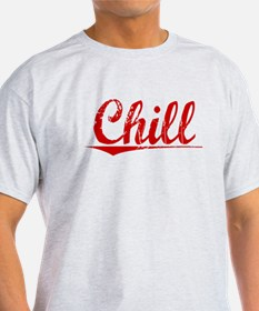 Chill, Vintage Red T-Shirt