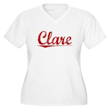 Clare, Vintage Red T-Shirt
