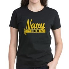 Collegiate Navy Mom 2 T-Shirt