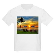Sunset & Palm Trees T-Shirt